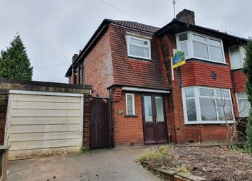 Thumbnail 3 bedroom semi-detached house to rent in Middleton Road, Higher Crumpsall, Manchester