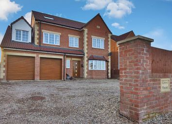 Thumbnail 6 bedroom detached house for sale in Doncaster Road, Whitley, Goole