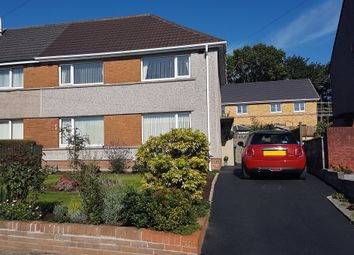 Thumbnail 3 bed semi-detached house for sale in Llys Wern, Neath