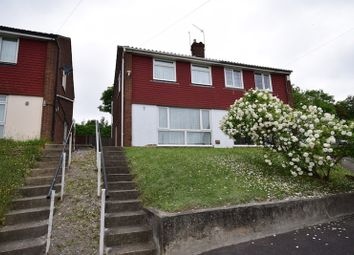 Thumbnail 3 bed semi-detached house for sale in Riverview Road, Greenhithe, Kent