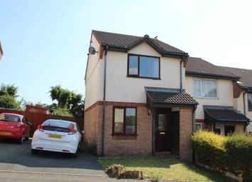 Thumbnail 2 bed end terrace house to rent in Poplar Close, Plymouth