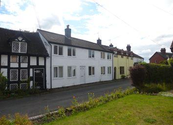 Thumbnail 3 bed terraced house to rent in Smithy Lane, Knighton, Market Drayton