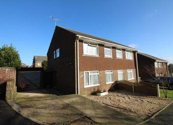Thumbnail 3 bed semi-detached house for sale in Hannams Close, Lytchett Matravers, Poole