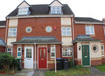 Thumbnail 4 bed town house for sale in Voce Gardens, Hucknall, Nottingham