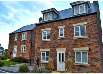 Thumbnail 5 bed detached house for sale in Davos Drive, Biddulph