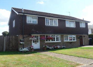 Thumbnail 3 bed semi-detached house to rent in Ash Lodge Close, Ash, Aldershot