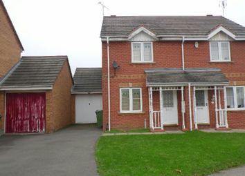 Thumbnail 2 bedroom semi-detached house to rent in Darien Way, Thorpe Astley, Braunstone, Leicester