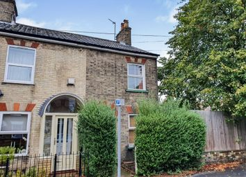 Thumbnail 3 bed end terrace house for sale in Leicester Street, Norwich