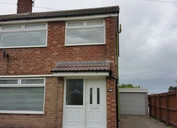 Thumbnail 3 bed semi-detached house to rent in Withycombe Road, Penketh, Warrington