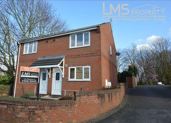 Thumbnail 2 bed semi-detached house for sale in Weaver Street, Winsford