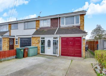 Thumbnail 3 bed end terrace house for sale in Lincoln Way, Canvey Island