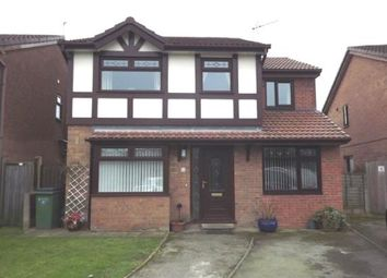 Thumbnail 5 bedroom detached house for sale in Barlow Fold Road, Reddish, Stockport, Cheshire