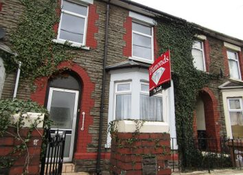 Thumbnail 3 bed terraced house to rent in Newport Road, Trethomas, Caerphilly
