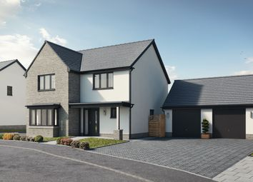 Thumbnail 4 bed detached house for sale in Plot 8 The Harlech, Caswell, Swansea