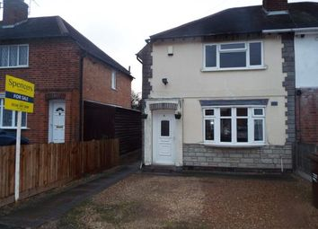 Thumbnail 3 bedroom semi-detached house for sale in Paget Avenue, Birstall, Leicester, Leicestershire
