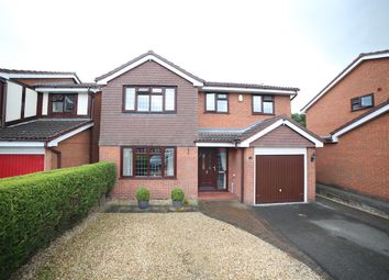 Thumbnail 4 bedroom detached house for sale in Ivatt Close, Telford