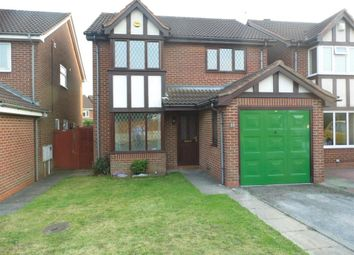 Thumbnail 4 bed detached house to rent in Tavistock Close, Stenson Fields, Derby