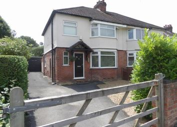Thumbnail 3 bed semi-detached house for sale in Gravel Lane, Wilmslow, Cheshire