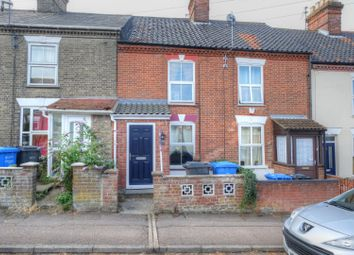 Thumbnail 2 bed terraced house for sale in Churchill Road, Norwich