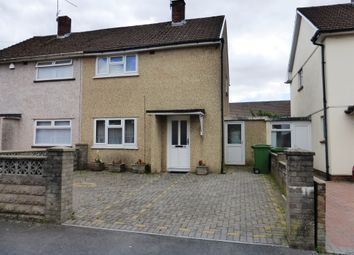 Thumbnail 2 bedroom semi-detached house for sale in Weston Road, Llanrumney, Cardiff