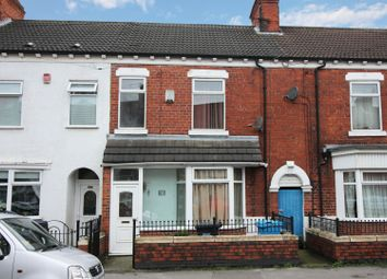 4 bed terraced house for sale in Alliance Avenue, Hull, North Humberside HU3