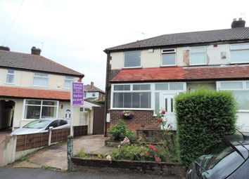 Thumbnail 2 bed end terrace house for sale in Caldecott Road, Manchester