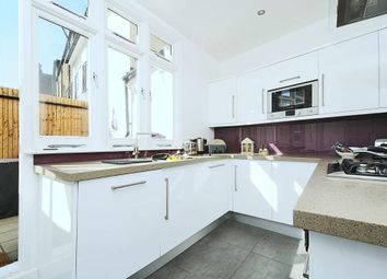 Thumbnail 3 bed flat to rent in Rayners Road, London