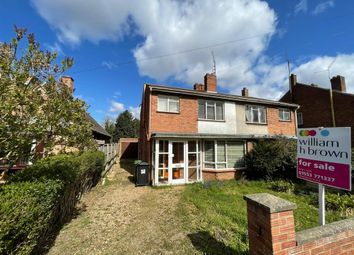 Thumbnail 3 bed semi-detached house for sale in Holcombe Avenue, King's Lynn