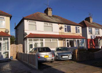 Thumbnail 3 bedroom semi-detached house for sale in Herbert Road, Shoeburyness