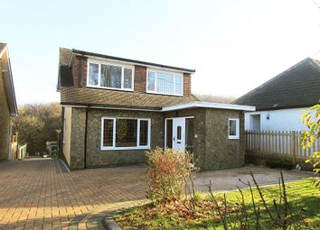 Thumbnail 4 bedroom detached house for sale in Hallsfield Road, Chatham, Kent