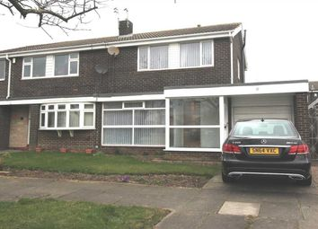 Thumbnail 3 bed semi-detached house for sale in Cramond Way, Collingwood Grange, Cramlington