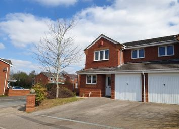 Thumbnail 3 bed semi-detached house to rent in Bushy End, Warwick