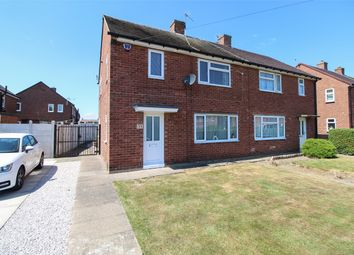 Thumbnail 3 bed semi-detached house for sale in Manor Drive, Brimington, Chesterfield