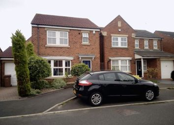 Thumbnail 3 bed detached house for sale in Meadow Vale, Shiremoor, Newcastle Upon Tyne