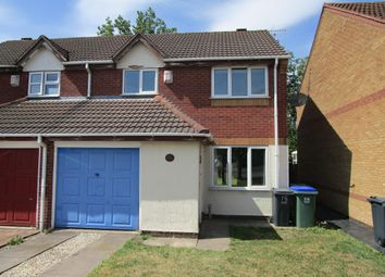 Thumbnail 3 bedroom semi-detached house to rent in Hursey Drive, Tipton