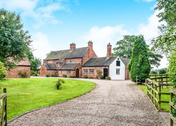 Thumbnail 5 bed detached house for sale in Shaw Lane, Kings Bromley, Burton-On-Trent