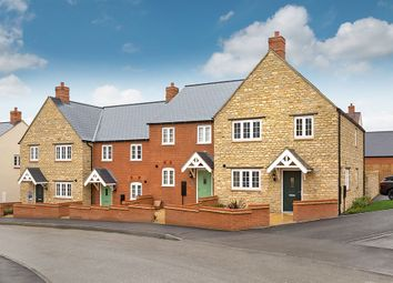 """Thumbnail 3 bed semi-detached house for sale in """"The Cypress"""" at Towcester Road, Silverstone, Towcester"""
