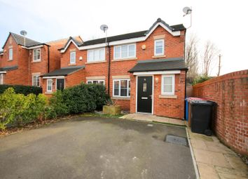 Thumbnail 3 bed semi-detached house for sale in Chesterfield Close, Eccles, Manchester