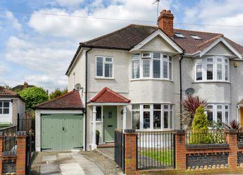 Thumbnail 3 bed semi-detached house for sale in Felhampton Road, London