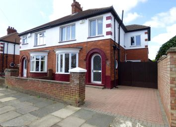 Thumbnail 3 bed semi-detached house to rent in Woodsley Avenue, Cleethorpes