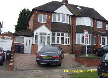 Thumbnail 3 bed semi-detached house to rent in Manor House Lane, Yardley
