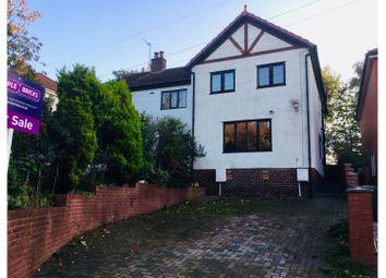 Thumbnail 3 bed semi-detached house for sale in Halton Brow, Halton Village, Runcorn