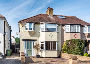 Thumbnail 3 bed semi-detached house for sale in Gillian Park Road, North Cheam, Sutton