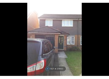 Thumbnail 3 bed semi-detached house to rent in Hornby Avenue, Bracknell