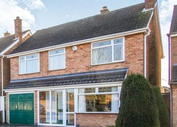 Thumbnail 5 bed detached house for sale in Estoril Avenue, Wigston, Leicester, Leicestershire