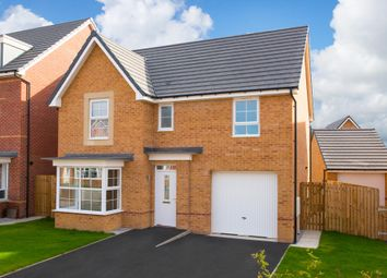 "Thumbnail 4 bed detached house for sale in ""Somerton"" at Station Road, Methley, Leeds"