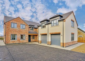 Thumbnail 5 bed detached house for sale in Wype Road, Eastrea, Whittlesey, Peterborough