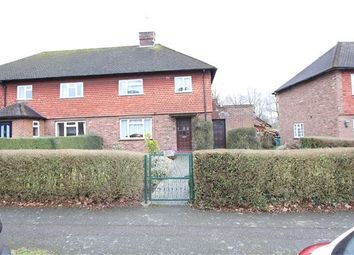 Thumbnail 3 bed semi-detached house for sale in Wolfs Wood, Hurst Green, Oxted, Surrey