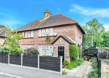Thumbnail 2 bed semi-detached house for sale in Eight Acres, Beacon Hill, Hindhead
