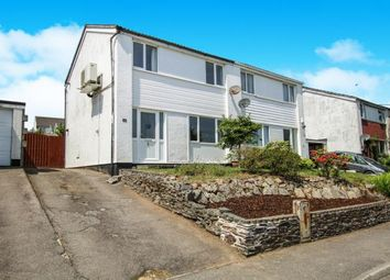 Thumbnail 3 bed semi-detached house for sale in Penwithick, St. Austell, Cornwall